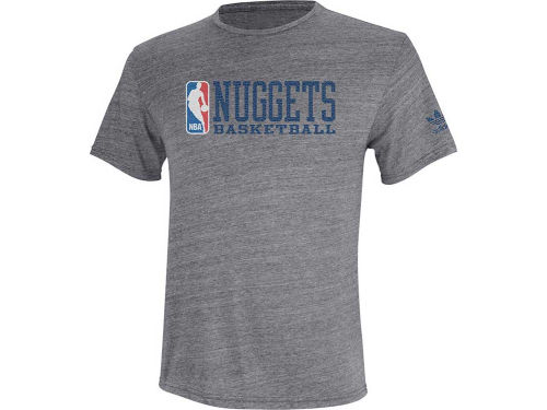 Denver Nuggets adidas NBA Practice Shot Triblend T-Shirt