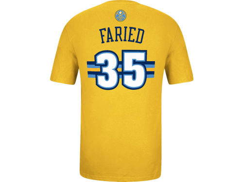 Denver Nuggets Kenneth Faried adidas NBA Men's Player T-Shirt