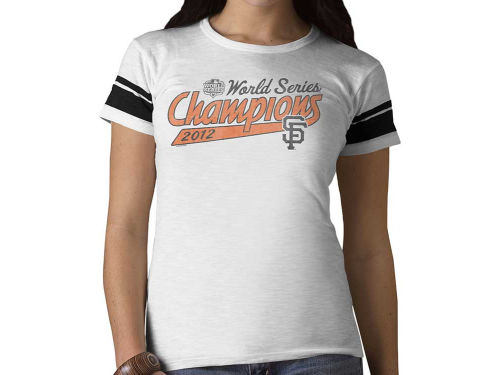 San Francisco Giants '47 Brand MLB Wmns WS Champ Game Time T-Shirt