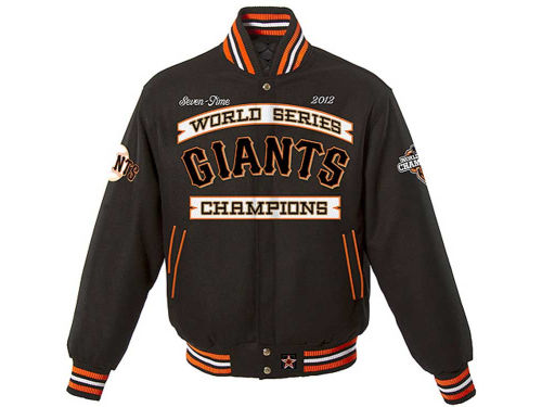 San Francisco Giants MLB 2012 World Series Champ Commemorative Reversible Jacket