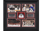 Chicago Blackhawks Mounted Memories 2010 Stanley Cup Champs Framed 4 Picture Collage Collectibles