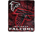 Atlanta Falcons Forever Collectibles 50x60in Plush Throw Roll Out Bed & Bath