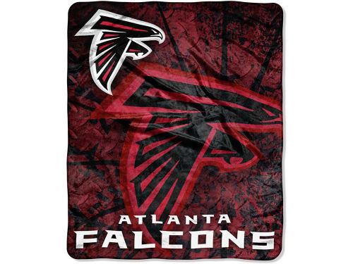 Atlanta Falcons Forever Collectibles 50x60in Plush Throw Roll Out
