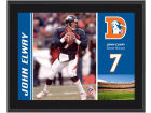 Denver Broncos John Elway NFL 8x10 Player Plaque Collectibles