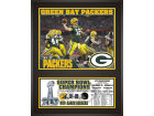Green Bay Packers Mounted Memories NFL Super Bowl XLV Champs Sublimated Plaque Collectibles