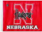 Nebraska Cornhuskers Forever Collectibles Car Flag Auto Accessories