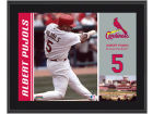 St. Louis Cardinals Albert Pujols MLB 8x10 Player Plaque Collectibles
