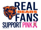 Chicago Bears Wincraft NFL Breast Cancer Awareness 4x6 Ultra Decal Knick Knacks