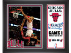 Chicago Bulls Mounted Memories NBA 12x15 Plaque 2011 Game 1 ECF Collectibles