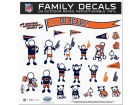 Chicago Bears 11x11 Family Decal Sheet Auto Accessories