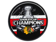 Forever Collectibles Patrick Kane Autographed Puck with Display Case