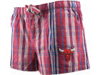 Chicago Bulls NBA Womens Spectrum Plaid Shorts