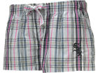 Chicago White Sox MLB Womens Spectrum Plaid Shorts
