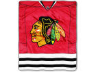 Chicago Blackhawks The Northwest Company 50x60in Plush Throw Jersey Bed & Bath