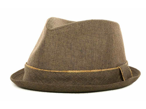 LIDS Private Label PL Pork Pie With Cork Tipped Band Hats