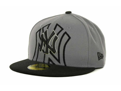 New York Yankees Over Flock 59FIFTY Cap Hats