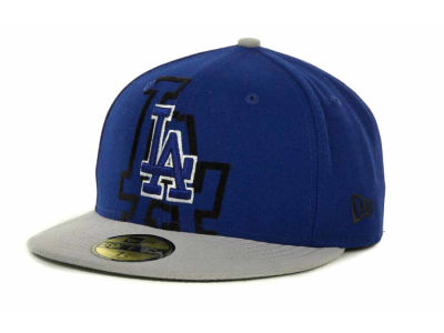 Los Angeles Dodgers Over Flock 59FIFTY Cap Hats