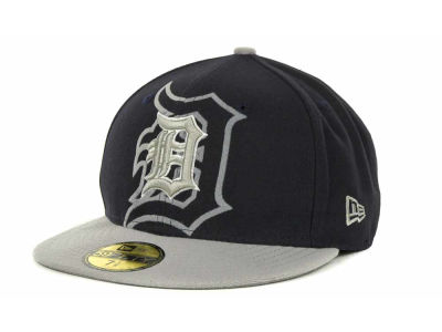 Detroit Tigers Over Flock 59FIFTY Cap Hats