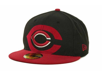 Cincinnati Reds Over Flock 59FIFTY Cap Hats