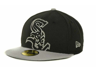 Chicago White Sox Over Flock 59FIFTY Cap Hats