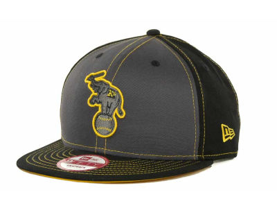 Oakland Athletics MLB SnapInPop Snapback 9FIFTY Cap Hats