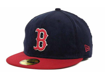Boston Red Sox MLB Team Cord 59FIFTY Cap Hats