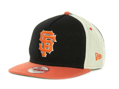 San Francisco Giants MLB Triple Melt Strapback 9FIFTY Cap Hats