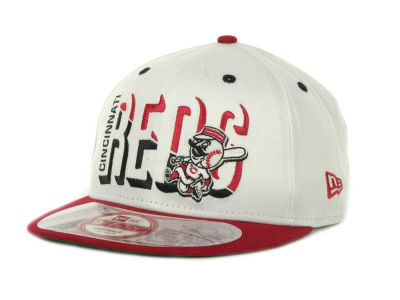 Cincinnati Reds Team Splitter Interchangeable Snapback 9FIFTY Cap Hats