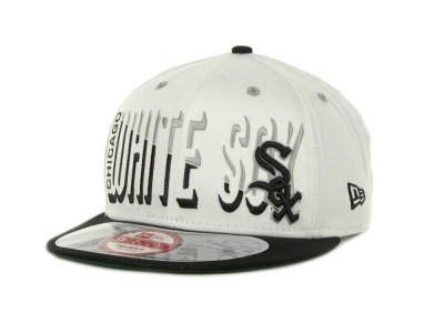 Chicago White Sox Team Splitter Interchangeable Snapback 9FIFTY Cap Hats