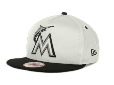 Miami Marlins MLB Turnover Snapback 9FIFTY Cap Hats