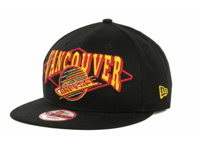 Vancouver Canucks NHL Geo Block Snap 9FIFTY Cap Hats