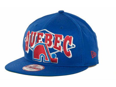 Quebec Nordiques NHL Geo Block Snap 9FIFTY Cap Hats