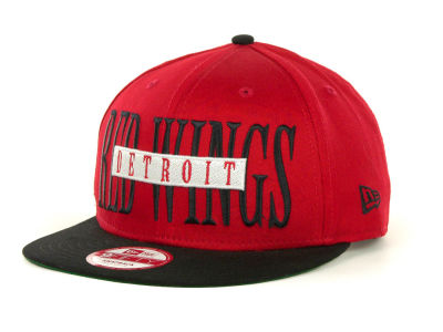 Detroit Red Wings Offsides Snapback 9FIFTY Cap Hats