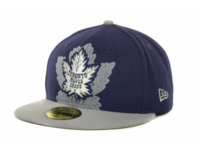 Toronto Maple Leafs Over Flock 59FIFTY Cap Hats