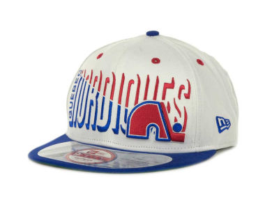 Quebec Nordiques Team Splitter Interchangeable Snapback 9FIFTY Cap Hats