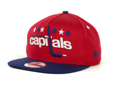Washington Capitals NHL Turnover Snapback 9FIFTY Cap Hats