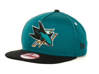 San Jose Sharks NHL Turnover Snapback 9FIFTY Cap Hats
