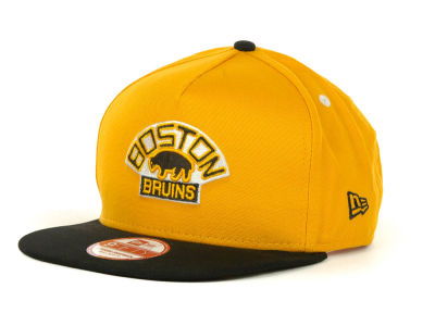 Boston Bruins NHL Turnover Snapback 9FIFTY Cap Hats