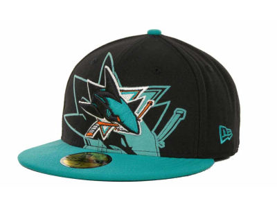 San Jose Sharks NHL Kids Over Flock 59FIFTY Cap Hats