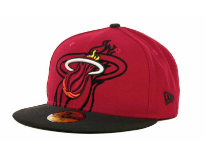 Miami Heat NBA Kids Over Flock 59FIFTY Cap Hats