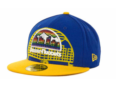Denver Nuggets NBA Kids Over Flock 59FIFTY Cap Hats