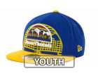 Denver Nuggets New Era NBA Kids Over Flock 59FIFTY Cap Fitted Hats
