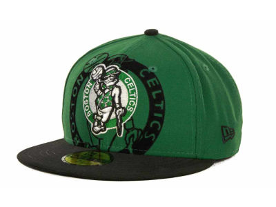 Boston Celtics NBA Kids Over Flock 59FIFTY Cap Hats