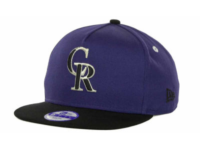 Colorado Rockies MLB Kids Turnover Snapback 9FIFTY Cap Hats