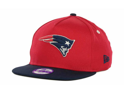 New England Patriots NFL Kids Turnover Snapback 9FIFTY Cap Hats
