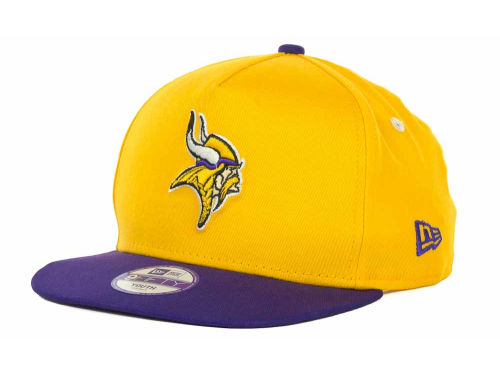 Minnesota Vikings New Era NFL 2013 Logo Change 9FIFTY Cap Hats