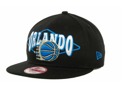 Orlando Magic NBA Hardwood Classics Geo Block Snap 9FIFTY Cap Hats