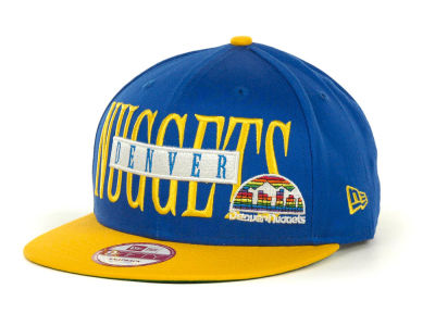Denver Nuggets Offsides Snapback 9FIFTY Cap Hats