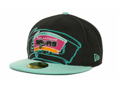 San Antonio Spurs Over Flock 59FIFTY Cap Hats