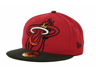 Miami Heat Over Flock 59FIFTY Cap Hats
